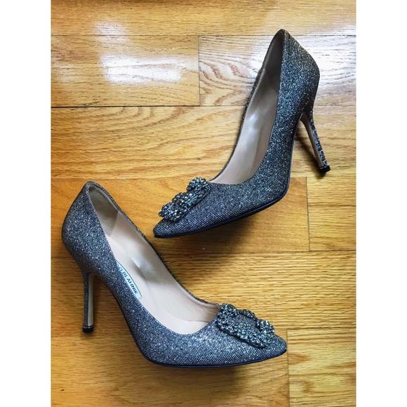f93852401 Manolo Blahnik Shoes | 1150 Hangisi 37 Pumps Notturno | Poshmark